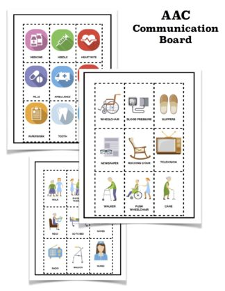 aac communication board