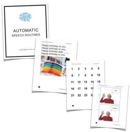 automatic speech tasks