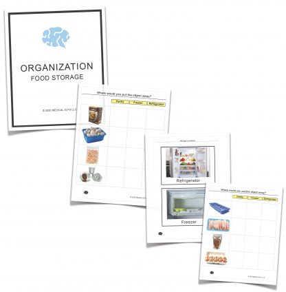 Food organization tasks