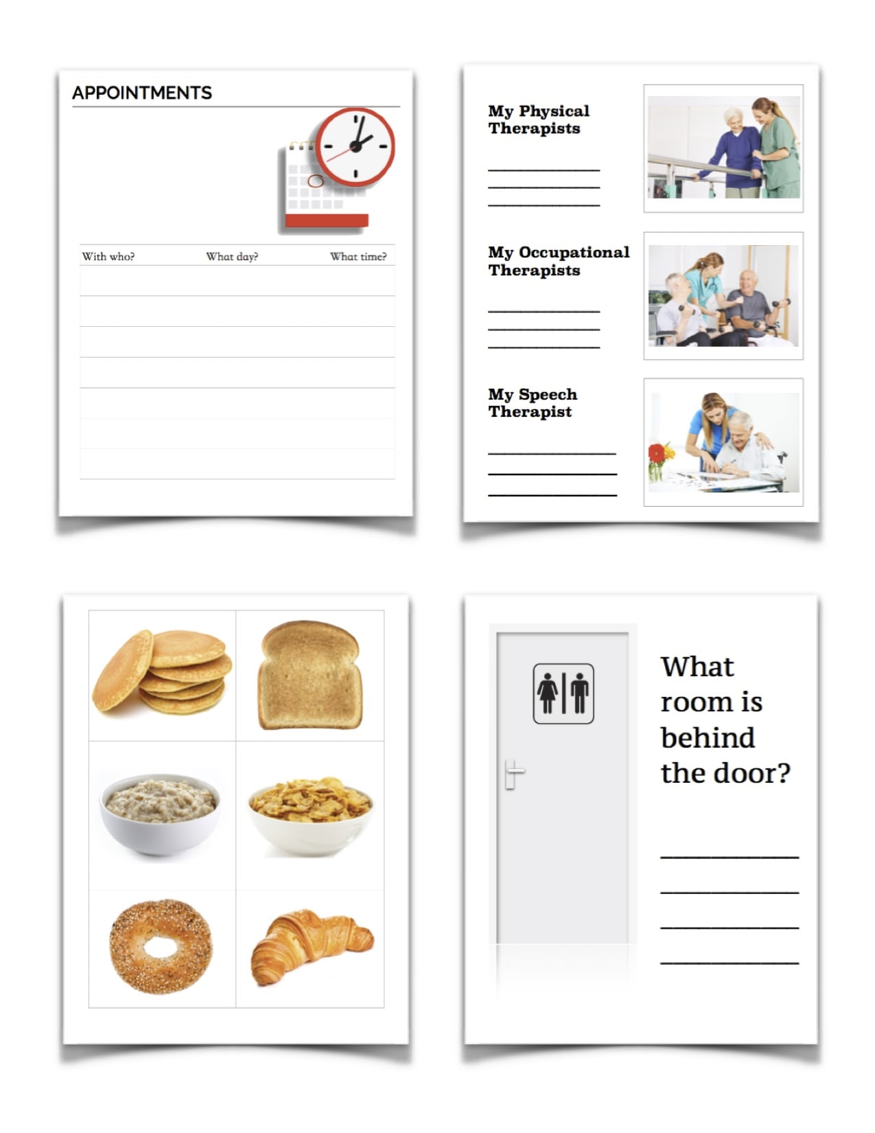 It's just a picture of Free Printable Speech Therapy Materials in speech delay