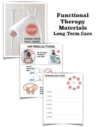 functional speech therapy materials