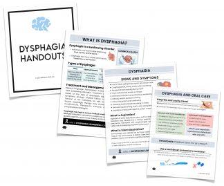 dysphagia handouts