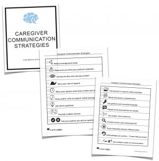 Caregiver Communication Strategies