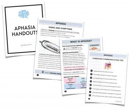 aphasia handouts