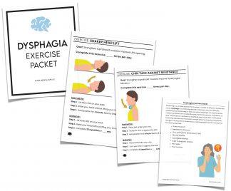 dysphagia exercise